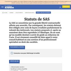 Modèle Statuts de SAS – Les Echos Business