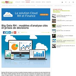 Big Data RH : modèles d'analyse clés et prises de décisions - Dossier spécial RH