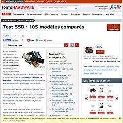 Test SSD : 96 modèles comparés