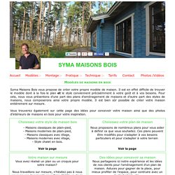 Modèles de maisons bois