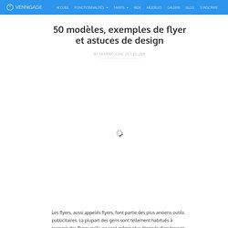 50 modèles, exemples de flyer et astuces de design - Venngage Blog