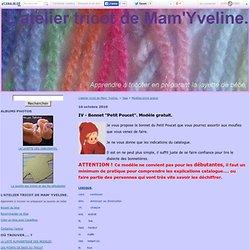 Modèles tricot gratuit : Tous les messages sur Modèles tricot gratuit - Page 2 - L'atelier tricot de Mam' Yveline.