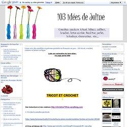 Liens vers des modèles et patrons gratuits en français : de tricot, crochet, couture et laines en ligne