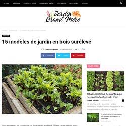 15 modèles de jardin en bois surélevé