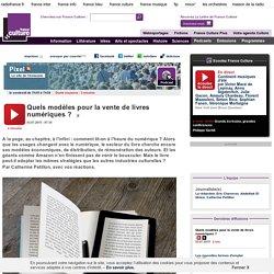 Quels modèles pour la vente de livres numériques