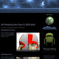 Modeling a face in 3ds max