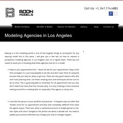 Modeling Agencies in Los Angeles