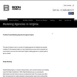 Modeling Agencies in Virginia (VA)