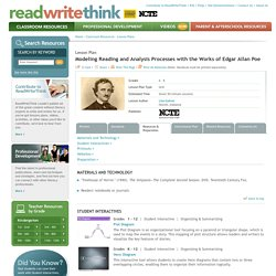 Modeling Reading and Analysis Processes with the Works of Edgar Allan Poe