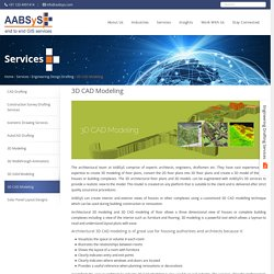 Architectural 3D CAD Modeling at AABSyS