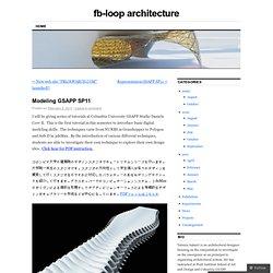 fb-loop architecture