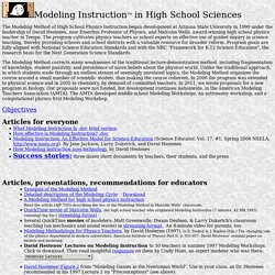 Modeling Instruction in High School Physics