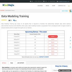 Live Data Modeling Training Classes by Data Modeling Experts