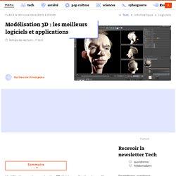 Modélisation 3D : les meilleurs logiciels et applications