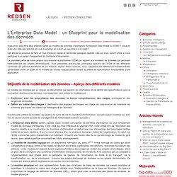 L'Enterprise Data Model : un Blueprint pour la modélisation des données « Redsen, cabinet de conseil en architecture d'entreprise