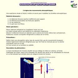 modélisation de la circulation atmosphérique