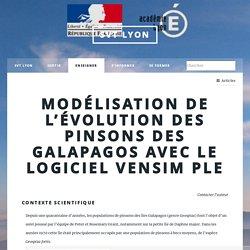 Modélisation de l'évolution des pinsons des Galapagos avec le logiciel Vensim (...) - SVT Lyon