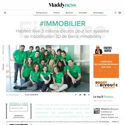 #Immobilier : Habiteo lève 3 millions d'euros pour son système de modélisation 3D de biens immobiliers - Maddyness