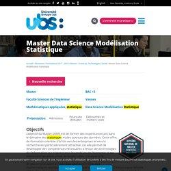 Master Data Science Modélisation Statistique