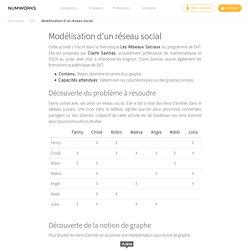 Modélisation d'un réseau social - NumWorks