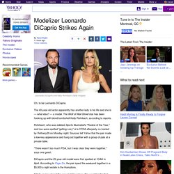 Modelizer Leonardo DiCaprio Strikes Again