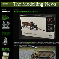 The Modelling News: MasterBox kit 3562: 1/35th West European Cart review