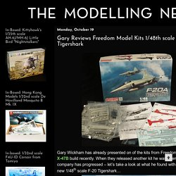 The Modelling News: Gary Reviews Freedom Model Kits 1/48th scale F-20A Tigershark