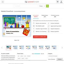 Modello PowerPoint - La scuola primaria, Sfondi