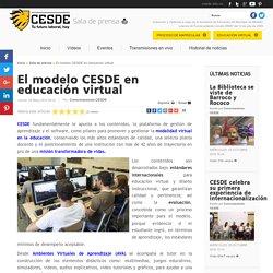 El modelo CESDE en educación virtual
