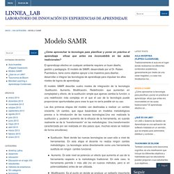 Modelo SAMR « Linnea_Lab