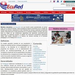 Modelos educativos - EcuRed