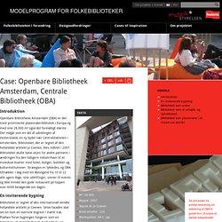 Openbare Bibliotheek Amsterdam, Centrale Bibliotheek-Modelprogramforfolkebiblioteker