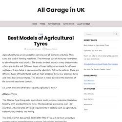 Best Models of Agricultural Tyres