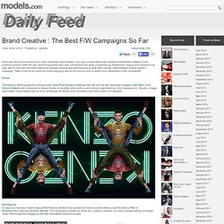 Feed » Brand Creative : The Best F/W Campaigns So Far