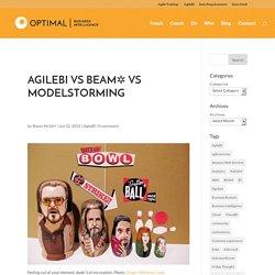 AgileBI vs BEAM✲ vs Modelstorming
