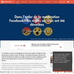 Dans l'enfer de la modération Facebook : les règles secrètes ont été dévoilées - Tech