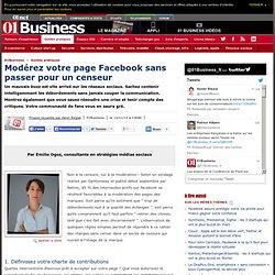 Modérez votre page Facebook sans passer pour un censeur