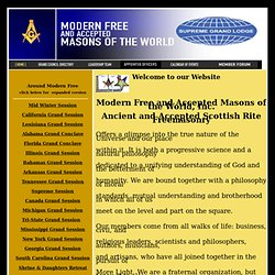Modern Free and Accepted Masons of the World: Home Page