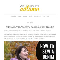 modern denim quilt - itsalwaysautumn - it's always autumn