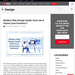 Modern Web Design Guide: How it can impact your business?