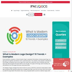 What Is Modern Logo Design? 10 Trends + Examples