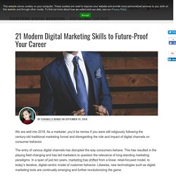21 Modern Digital Marketing Skills to Future-Proof Your Career