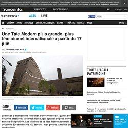 Tate Modern plus grande, plus féminine et internationale à partir du 17 juin