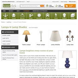 Modern Floor Lamps Sets