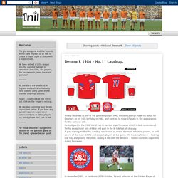 1nil modern retro football shirts: Denmark