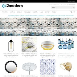 Modern Lighting & Contemporary Furniture for Home, Office & Baby