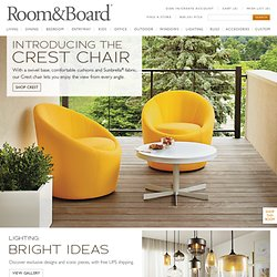 Modern Furniture - Room & Board