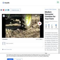 Modern Harvester Combine for Your Farm