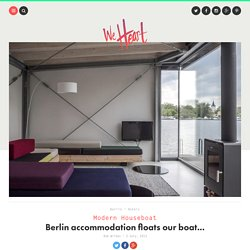 Modern Houseboat — Berlin