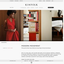 Modern Movement - Kinfolk